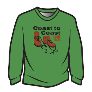 Green Coast to Coast Sweatshirt