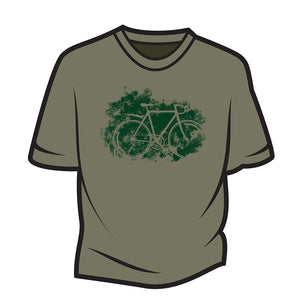 Khaki Road bike T-Shirt