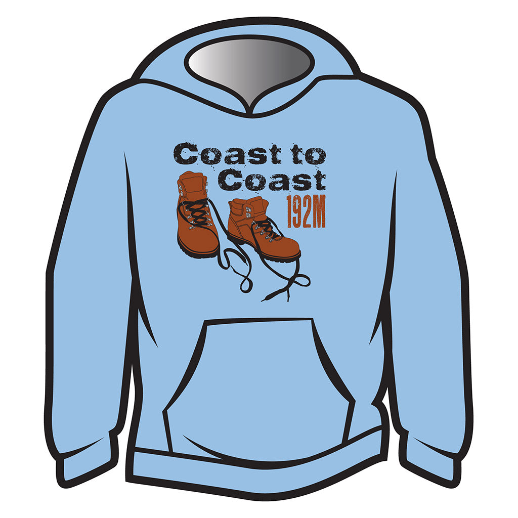 Light Blue Coast to Coast Hoodie
