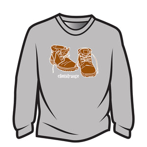Light Grey climbitrange Boots Sweatshirt