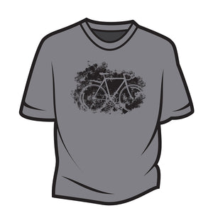 Light Grey Road bike T-Shirt
