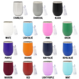 World's Okayest Mom! 16oz Powder Coated Insulated Stemless Tumbler