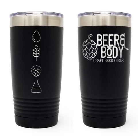 Beer & Body Craft Beer Girls - 20 oz Tumbler