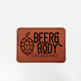 Beer & Body Craft Beer Girls - Vegan Leather Patch