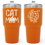 Craft Beer Girls - Cat Mom 30 oz Tumbler
