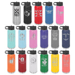 Craft Beer Girls Logo Water Bottle