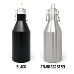 Work For Your Beer 64 oz. Growler