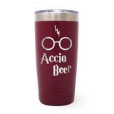 Accio Beer 20oz Laser Engraved Insulated Tumbler Cup
