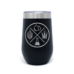 Beer Ingredients 16oz Powder Coated Insulated Stemless Tumbler