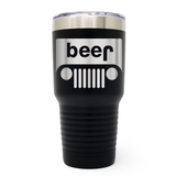 Jeep Beer 30oz Laser Engraved Insulated Tumbler Cup