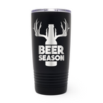 Beer Season 20oz Laser Engraved Insulated Tumbler Cup