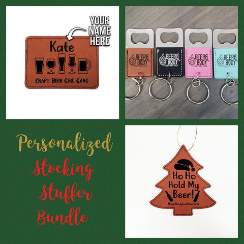 Personalized Stocking Stuffer Package