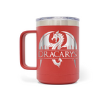 Dracarys Dragon 15oz Insulated Stainless Steel Mug