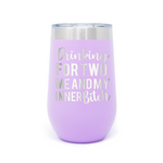 Drinking For Two 16oz Powder Coated Insulated Stemless Tumbler