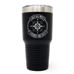 Not All Who Wander Are Lost 30oz Laser Engraved Insulated Tumbler Cup