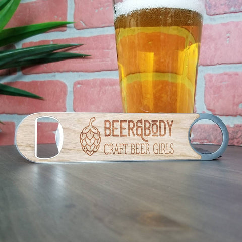 Beer & Body Wood Bottle Cap opener