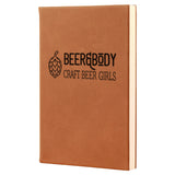 Beer & Body Craft Beer Girls Vegan Leather Journal