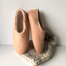 Thick Ladies Slippers - Peach