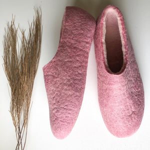 Thin Ladies Slippers - Light Pink