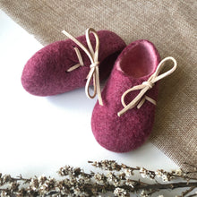 Felt Shoes - Grape