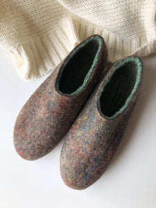 Thin Ladies Slippers - Colour Medley