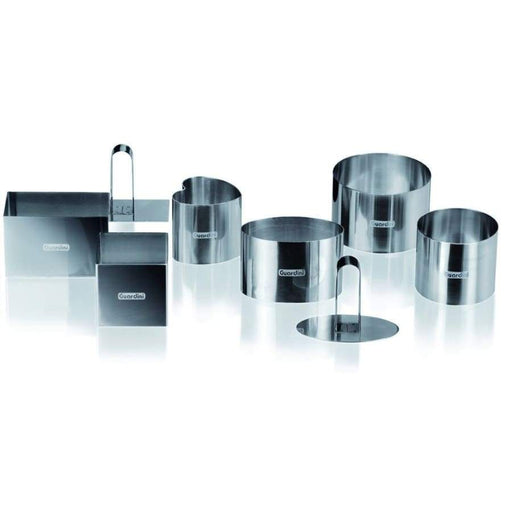 Guardini 6 pieces Food Ring Set with pusher - 15669