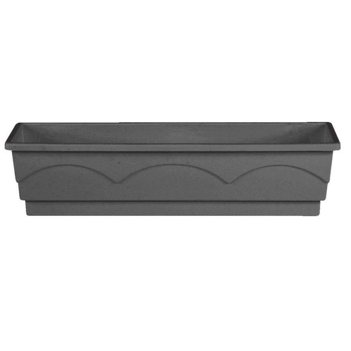 Emsa Lago Garden window box 100cm dark grey - 505103