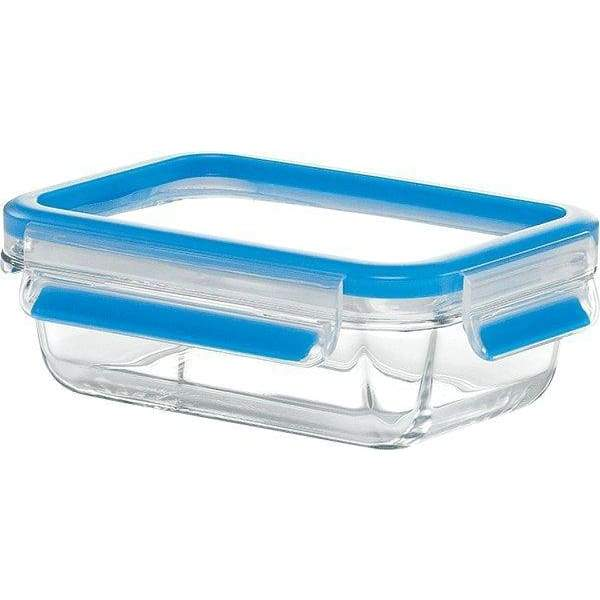Emsa Clip and Close Rectangle Glass Container 500ml - 513918