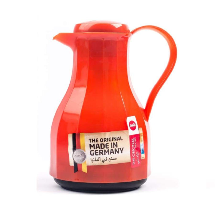 Emsa Vieleck Gloss Vacuum Jug 1.0L Orange - 515817