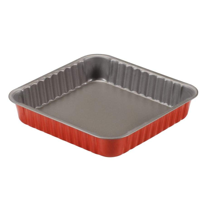 Gurdini Rossana Square Cake Tin 24x24cm Red - 54524