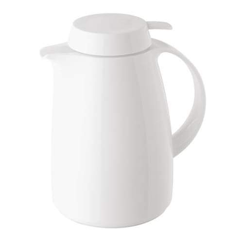 Helios Classic Vacuum Jug with Button 1L White - 7204-001