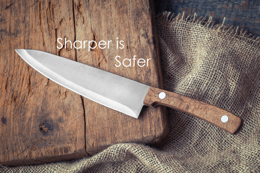 A Sharp Knife is a Safer Knife - Get Your Knives Sharpened by a Pro