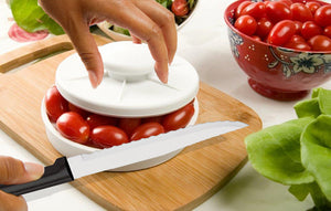 Rapid Slicer/Ultimate Serrated Slicing Knife Combo