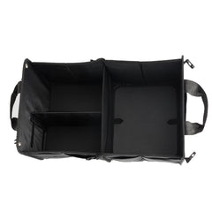 Cargotek Heavy Duty Material Collapsible Trunk Organizer with Straps.