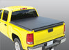 Image of soft tri-fold tonneau cover for pickup truck