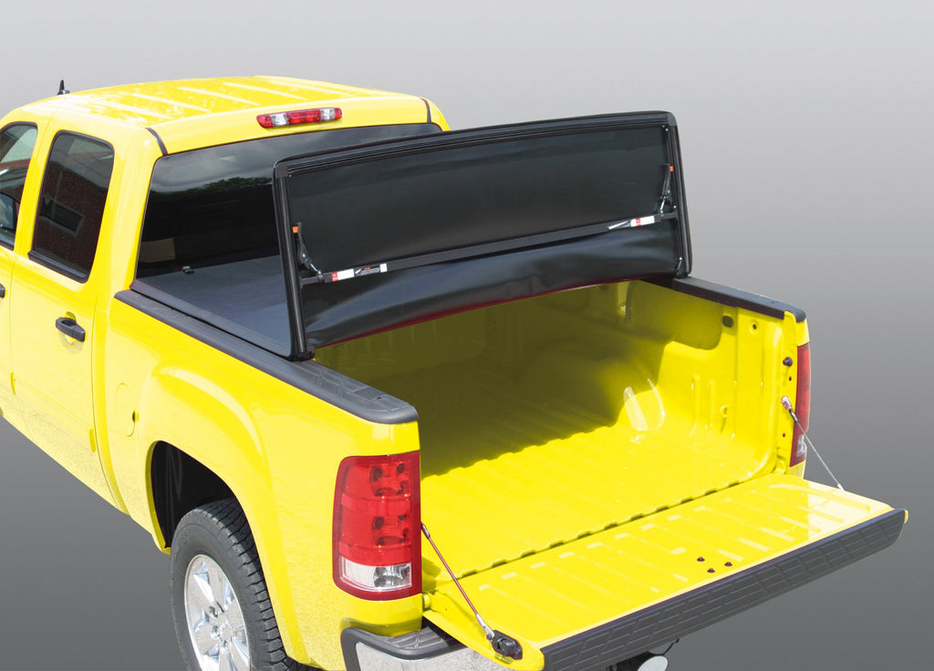 soft tri-fold tonneau cover for pickup truck