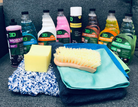 Essential 3D Products Car Care Kit