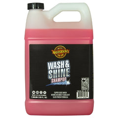 Masterson's Car Care Wash & Shine Shampoo (1 Gallon) 128 oz