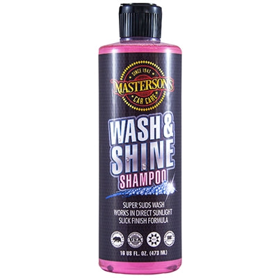Masterson's Car Care Wash & Shine Shampoo (16 oz)