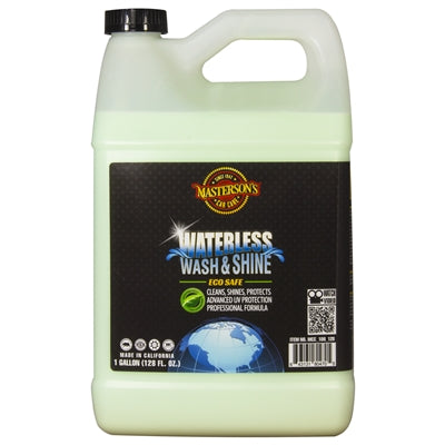 Masterson's Car Care Waterless Wash & Shine (1 Gallon) 128 oz.