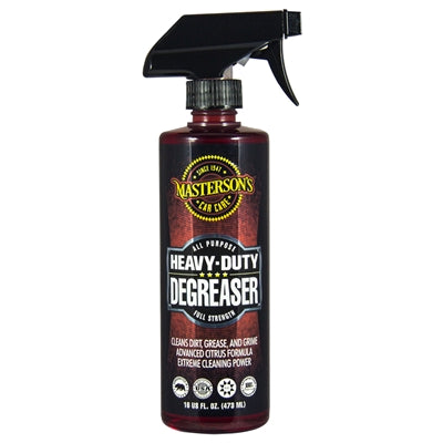 Masterson's Car Care Heavy Duty Degreaser (16 oz)