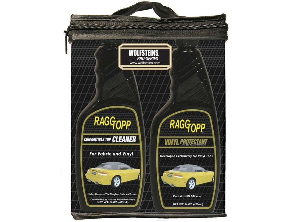 Raggtopp Convertible Top Vinyl Cleaner & Protectant Kit 16 Ounce