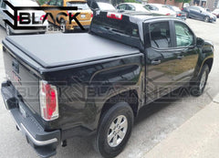 B-Series Soft Tri-Fold Tonneau Cover for GMC Sierra/Chevy Silverado 6.5ft (2014-2020)