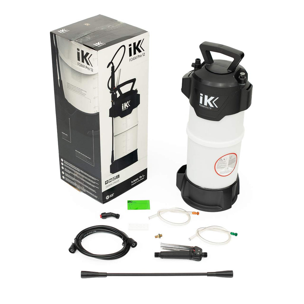 iK Foam Pro 12 Sprayer/Professional Auto Detailing; Dry/Wet Foam Spray
