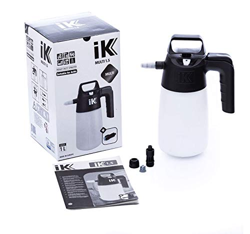 iK MULTI 1.5 PUMP SPRAYER | 35 oz | Professional Auto Detailing; Multi-Purpose Pressure Spray