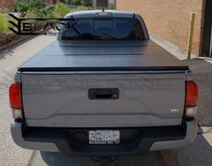 B-Series Hard Tri-Fold Cover for Toyota Tacoma 6ft (2016-2021) and 2004-2021 Colorado/Canyon 6ft. Available Only Online.