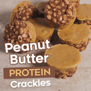 Peanut Butter Protein Crackles