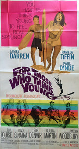 For Those Who Think Young. Three Sheet Poster.