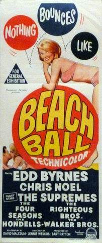 Beach Ball. Original day-bill.