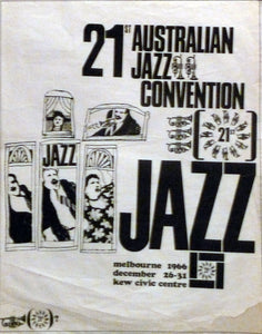 Australian Jazz Convention 1966.
